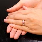 コンクパール0.8ct ダイヤモンド0.2ct プラチナ リング(指輪)【品質保証書/宝石鑑別書付】【動画あり】