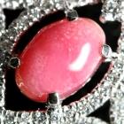 コンクパール1.1ct/1.1ct ダイヤモンド1.2ct プラチナ ピアス【品質保証書/宝石鑑別書付】