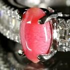 コンクパール0.8ct ダイヤモンド0.3ct プラチナ リング(指輪)【品質保証書/宝石鑑別書付】【動画あり】