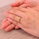 イエロー・オレンジサファイア0.6ct ダイヤモンド ミステリー イエローゴールド リング(指輪)【品質保証書/鑑別付】【動画あり】【オーダージュエリー】