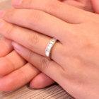 ダイヤモンド約1ct プラチナ リング(指輪)【品質保証書/宝石鑑別書付】【動画あり】