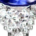タンザナイト2.4ct ダイヤモンド プラチナ リング(指輪)