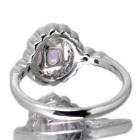 ターフェアイト1.0ct ダイヤモンド0.3ct プラチナ リング(指輪)