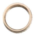 ダイヤモンド0.9ctUP フルパヴェ ピンクゴールド リング(指輪)9番【品質保証書/宝石鑑別書付】【オーダージュエリー】