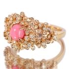 コンクパール1ct  ダイヤモンド0.57ct ピンクゴールド リング(指輪)【品質保証書/宝石鑑別書付】【動画あり】