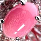 コンクパール1.8ct  ダイヤモンド1.6ct ローズモチーフ プラチナ リング(指輪)【品質保証書/宝石鑑別書付】【動画あり】