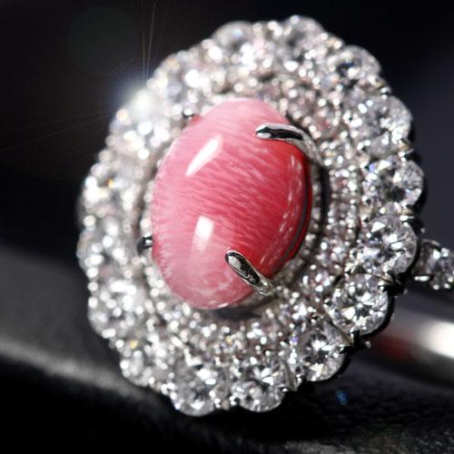 コンクパール2ct ダイヤモンド0.9ct プラチナ リング(指輪)【品質保証書/宝石鑑別書付】【動画あり】