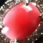 コンクパール1.29ct ダイヤモンド0.3ct サイドセッティング プラチナ リング(指輪)【品質保証書/宝石鑑別書付】【動画あり】