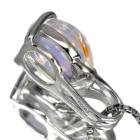 ブルームーンストーン2.8ct プラチナ ネックレス
