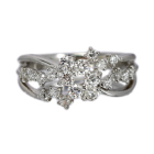 ダイヤモンド 0.6ct プラチナ リング(指輪)