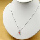 コンクパール 0.7ct ダイヤモンド プラチナ ネックレス