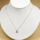 ピンクダイヤモンド 0.289ct/FLPP/I1 ダイヤモンド プラチナ ネックレス