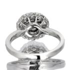 ピンクダイヤモンド 0.264ct FP/SI2 ダイヤモンド(H&C)&ダイヤモンド プラチナ リング(指輪)