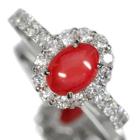 コンクパール 1.45ct ダイヤモンド プラチナ リング(指輪)
